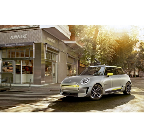 BMW Mini Electric Concept 终于要来了!